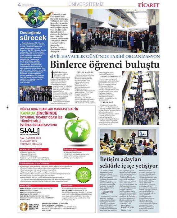 İstanbul Ticaret Odası Gazetesi