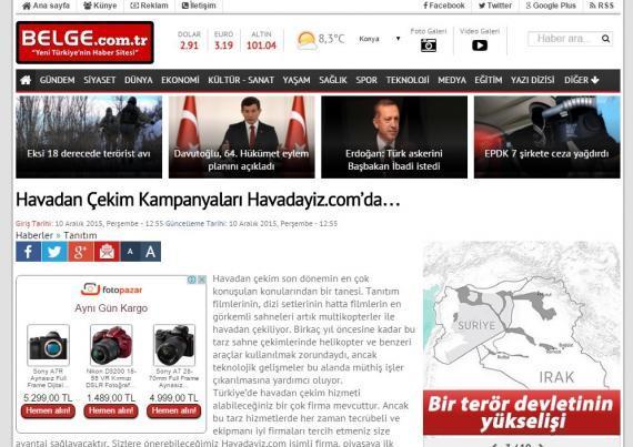 Havadan Çekim Kampanyaları Havadayiz.com'da