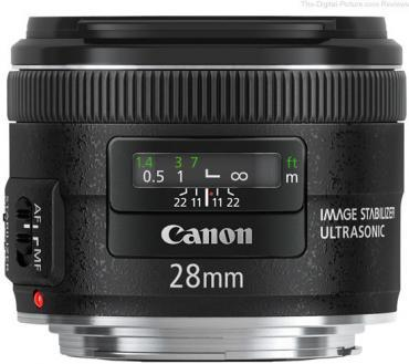 Canon 28mm EF 2.8 IS USM